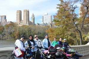 Moms On A Mission with Elizabeth Trindade in NYC Central Park